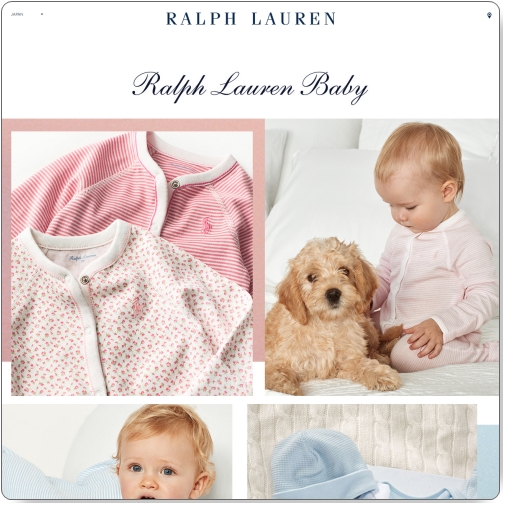ラルフローレンの出産祝いは人気